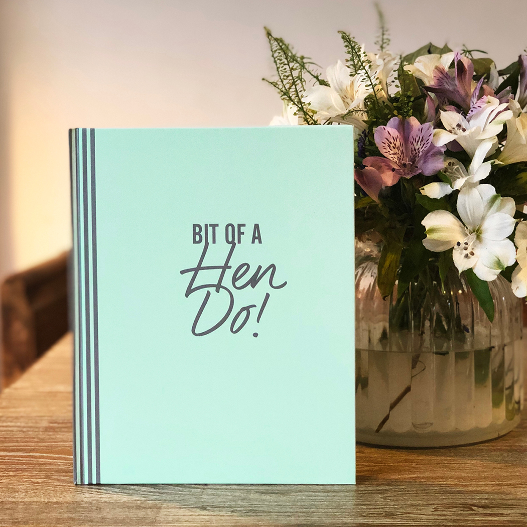 Hen Party Memory And Message Book