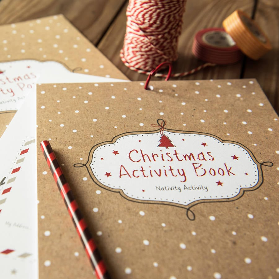 Kids Christmas Activity Book