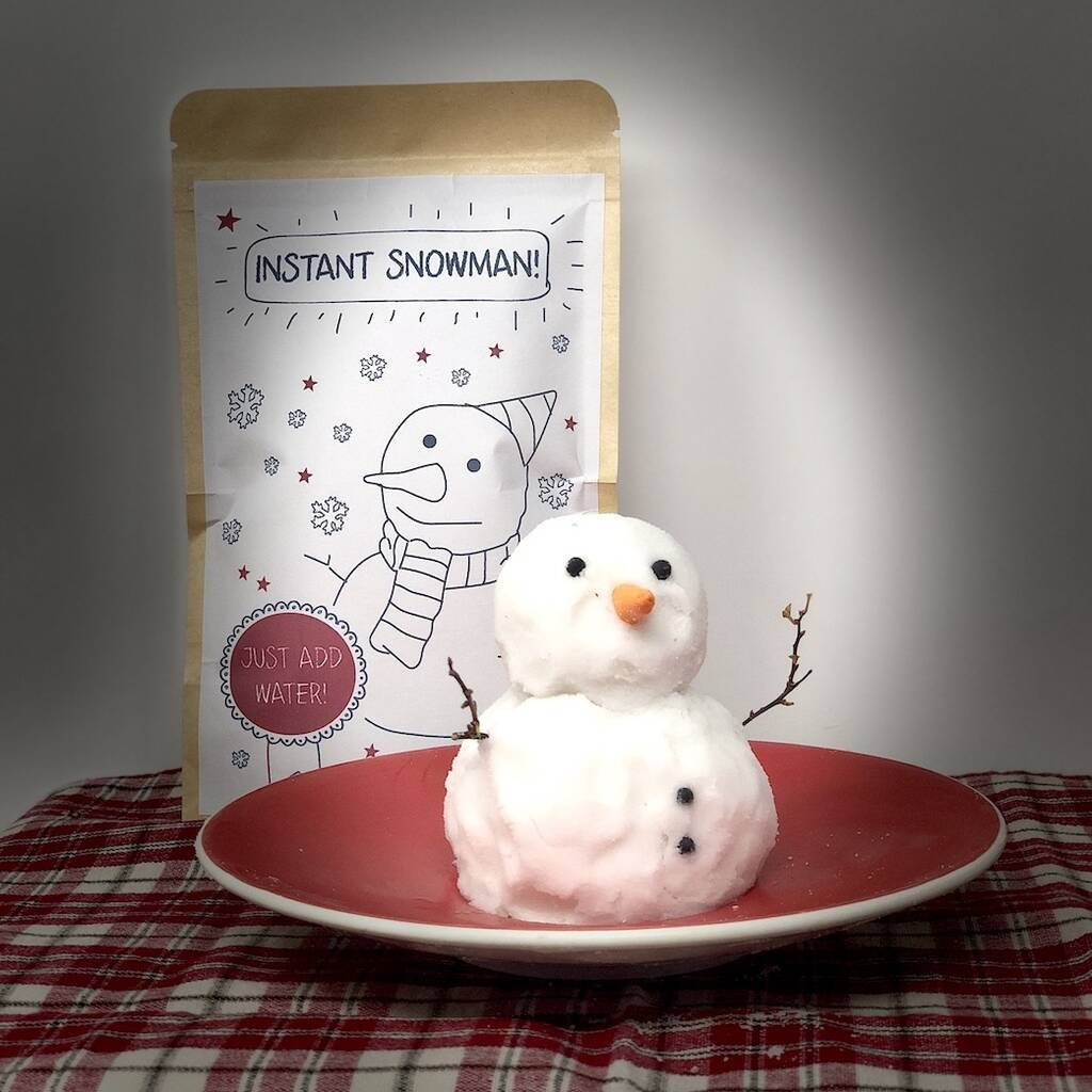 Instant Snowman Christmas Activity Gift