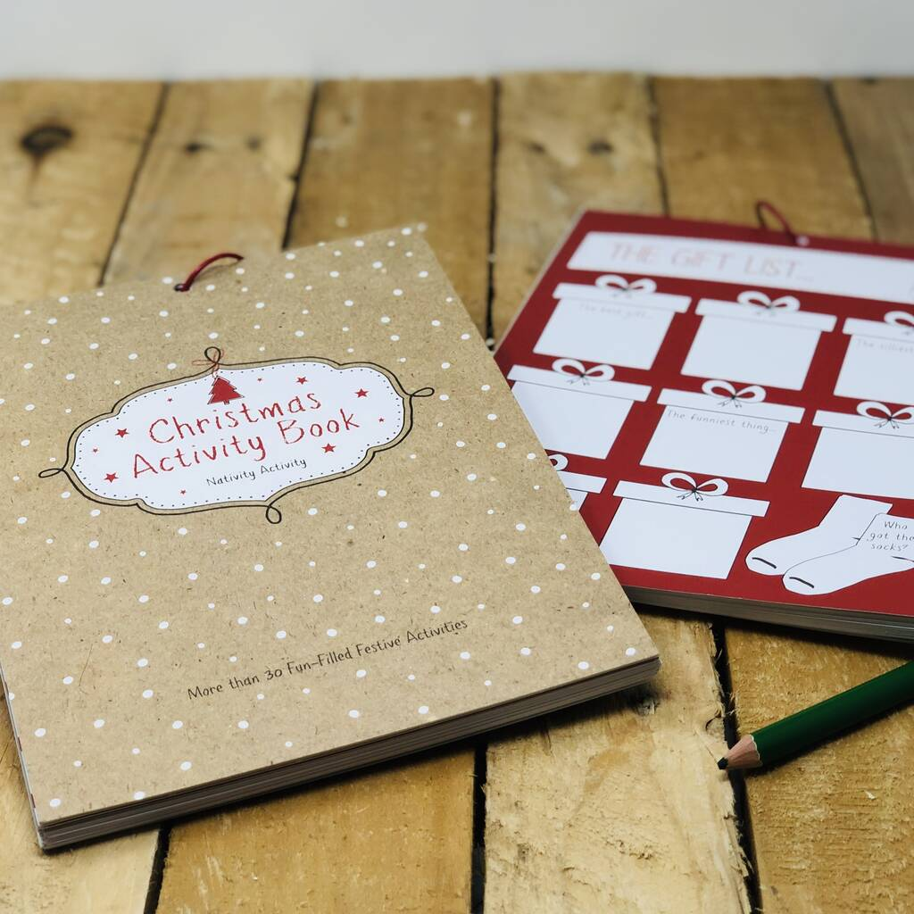 Christmas Memory And Activity Book