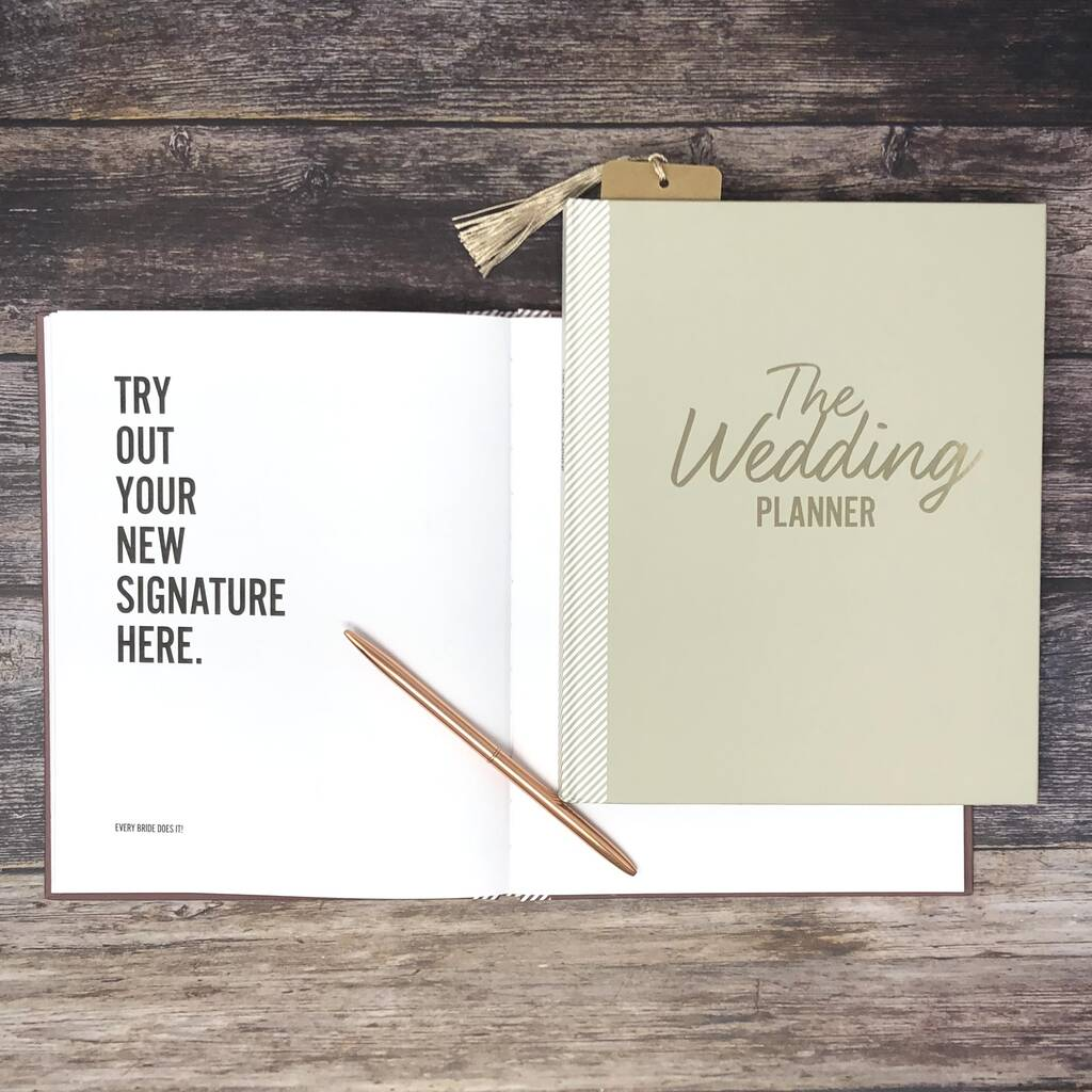 Ultimate Wedding Planner In Limited Edition Dove Grey