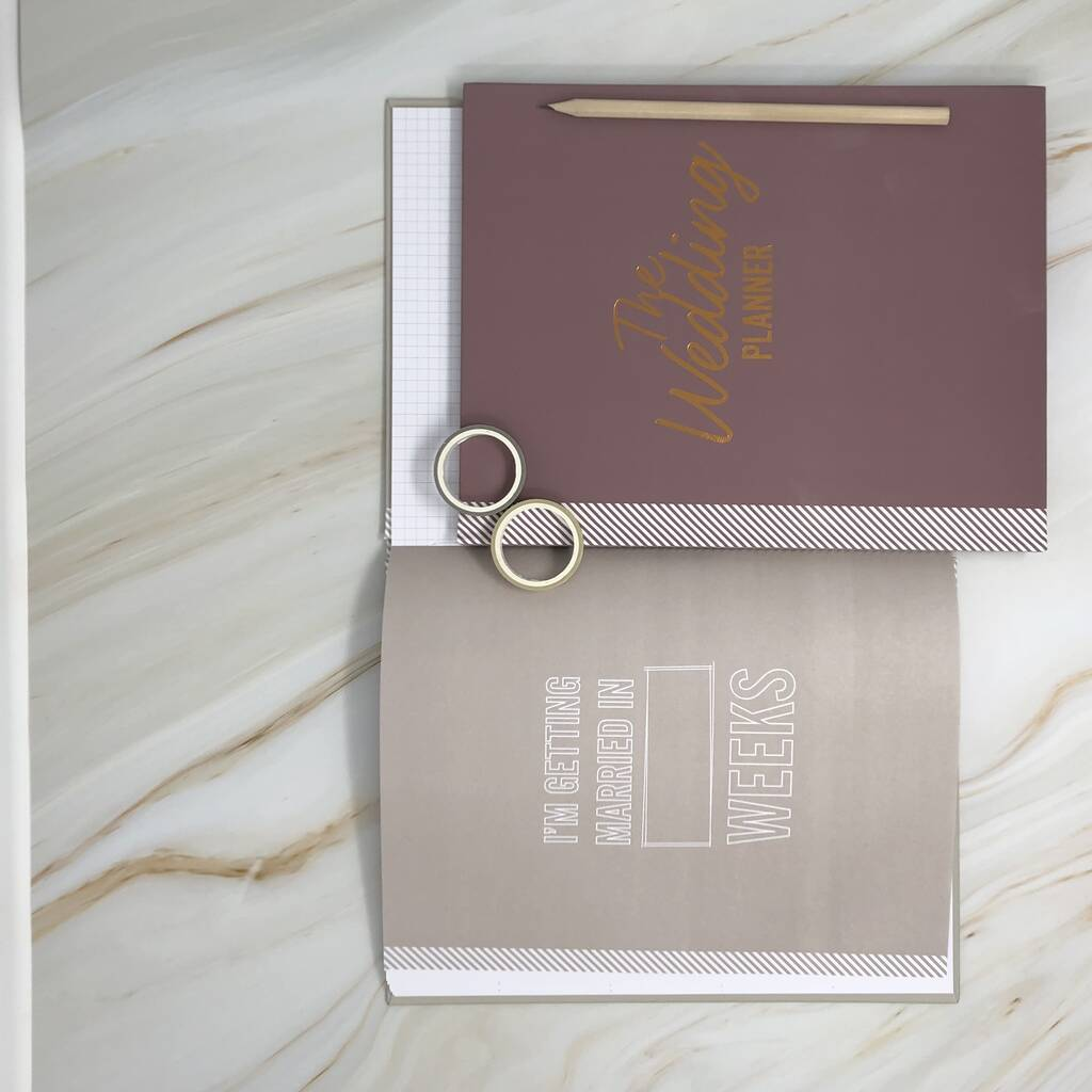Ultimate Wedding Planner In Limited Edition Mulberry